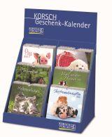 Postkartenkalender Tiere - Sortiment kle