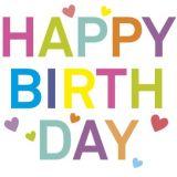 Quadro Geburtstag