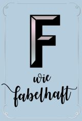 "PK Buchstabensalat ""F"""