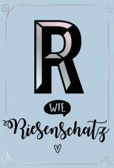 """PK Buchstabensalat """"R"""""""